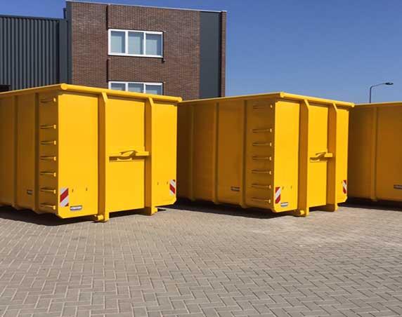 afzetcontainer te koop