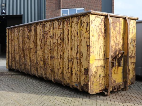 afbeelding pw container diensten roestige container