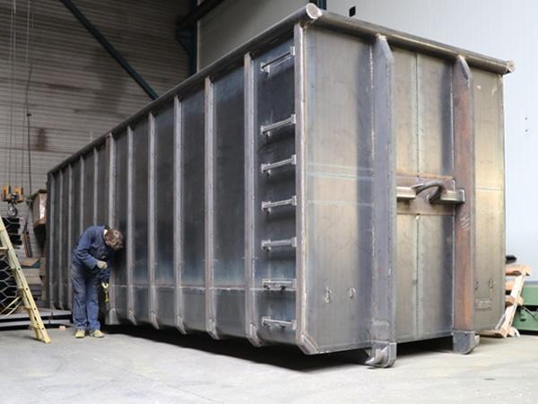 afbeelding pw container productie en levering
