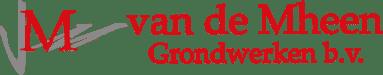logo van de mheen grondwerken