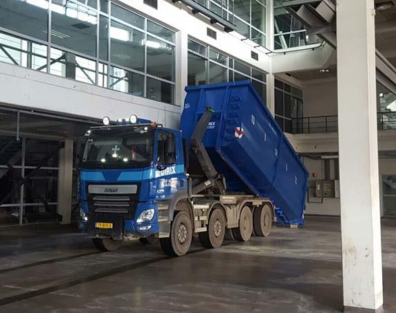 Haakarm container kopen