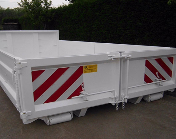 zand afvalcontainer