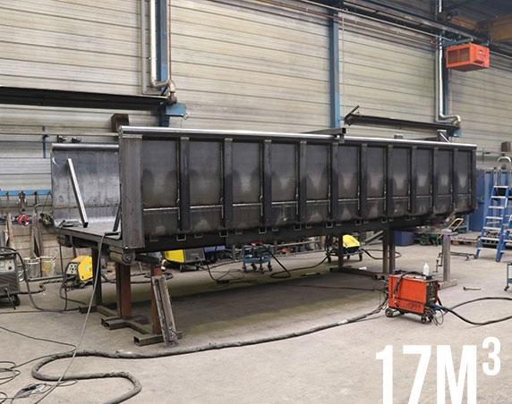 container 17m³