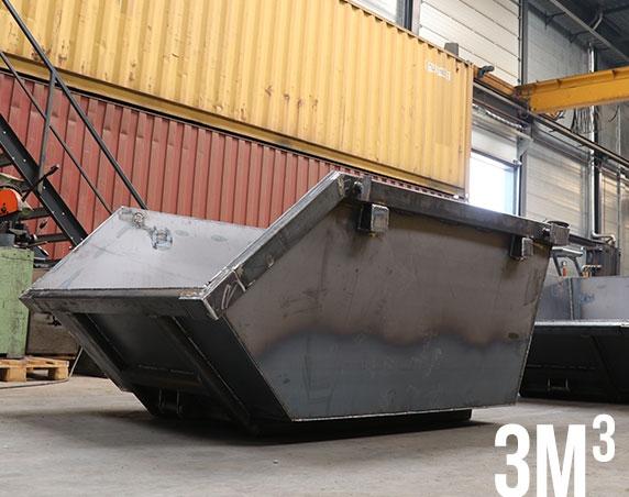 container 3m³