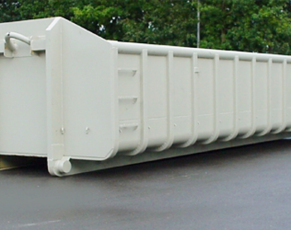sloopafval container